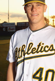 Andrew Bailey #40 of the Oakland Athletics poses for a portrait during media photo day at Phoenix Municipal Stadium on February 24, 2011 in Phoenix, ... - Andrew%2BBailey%2BOakland%2BAthletics%2BPhoto%2BDay%2BQEzI15jw2XKl