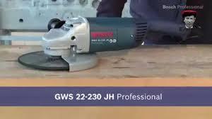 Угловая шлиф машина <b>BOSCH GWS 22 230 JH</b> - YouTube