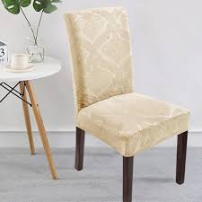 Delight Dining Room Chair Covers,Velvet Stretch ... - Amazon.com