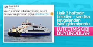 İzmirliler gemilerine kavuşuyor