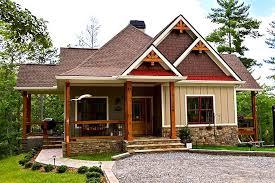 Lake Wedowee Creek Retreat House Planrustic craftsman lake cottage house plan wedowee creek