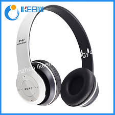 China <b>P47 New</b> Hot Sale Bass HiFi Earphone Foldable Over Ear ...