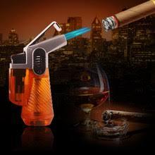 Online Shop 1508 Creative Metal <b>Inflatable</b> Gas <b>Cigar Torch</b> Lighter ...