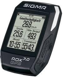 """<b>Велокомпьютер</b> Sigma """"ROX 7.0 <b>GPS</b>"""", цвет: черный — купить в ..."""
