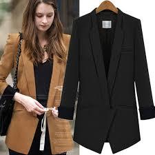 <b>Women's Korean</b> OL Business Formal Ladies Office Coat <b>Blazers</b> ...