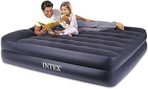 Intex Pillow Rest Raised Airbed with Built-in Pillow ... - Amazon.com