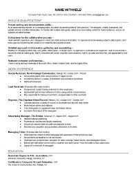 budgeting analyst resume