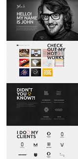 responsive joomla template for personal portfolio and blog websites john responsive one page portfolio joomla template