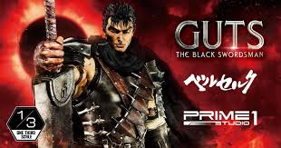 Guts, The Black <b>Swordsman</b> Berse... | Statue | Prime 1 Studio