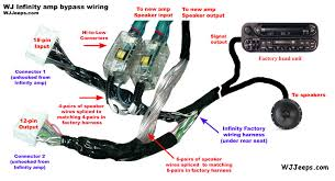 jeep grand cherokee wj upgrading the factory sound system 2001 Ultra Rear Speakers Wiring Harness jlwiringinst3b jpg Aftermarket Car Speakers