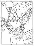 Человек-паук раскраска распечатать