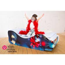 Купить Детская <b>кровать</b> «Кошка Мурка» в интернет-магазине ...