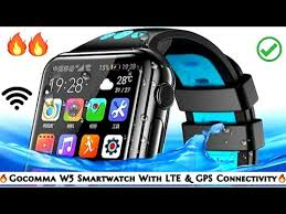 <b>Gocomma W5</b> : A Budget Smartwatch With LTE and GPS ...