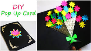 DIY <b>Greetings</b> Card | <b>Flower</b> Bouquet Pop Up Card | Mother's Day ...