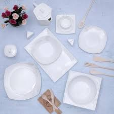 Buy Royalford RF9786 <b>39-Pcs</b> Opal Ware Dinner <b>Set</b> - Portable ...