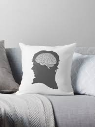 """Sherlock - Brainy Is The <b>New Sexy</b>"" Throw Pillow by somethingdiffer ..."