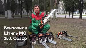 <b>Бензопила Штиль</b> МС <b>250</b>. Обзор - Какую бензопилу купить ...