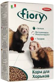 <b>FIORY</b> корм для хорьков Farby 650 г / <b>Furby</b> (croquettes for Ferrets ...