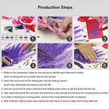 <b>Full</b> drill square diamond painting <b>5D DIY</b> diamond embroidery ...