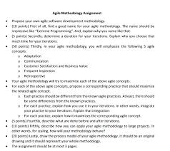 AHW  Could you please help me with my homework    subject  AGILE PROGRAMMING METHODOLOGIES  please do not send irrelevant answers  Chegg