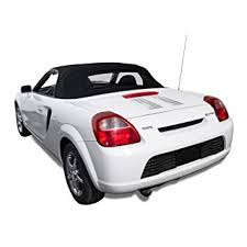 toyota mr2 convertible top made from haartz stayfast cloth with heated glass window black amazoncom bmw z3 convertible top