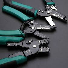 Multifunction Cable Crimper Cutter Wire Stripper <b>Decrustation Pliers</b> ...