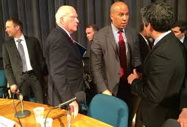 sens patrick leahy cory booker talk criminal justice reforms j talks burlington or miro weinberger