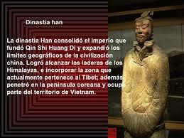 Resultado de imagen para dinastia han china