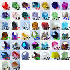 Crystal Bicone Jewelry Making Beads for sale | eBay
