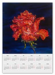 Одностраничные календари а2 с символикой цветы