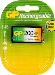 Купить <b>9V Аккумулятор</b> GP 20R8H в интернет-магазине ...