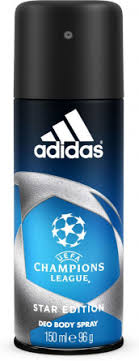 "<b>Дезодорант</b>-<b>спрей</b> ""<b>Adidas</b>"" <b>UEFA</b> II <b>Champions League</b> Star ..."