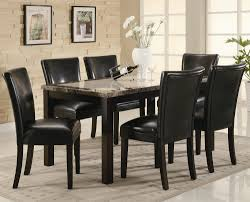 seven piece dining set: coaster carter  piece dining table set with upholstered chairs coaster fine furniture