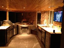 gallery outdoor kitchen lighting: see our amazing outdoor kitchen installation photos in lubbock and surrounding cities