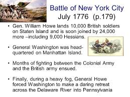 「Battle of Staten Island, william howe」の画像検索結果