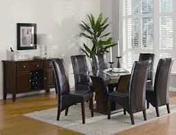 black and white dining table set:  awesome glass dining room table sets home interior design ideas with dining room table sets