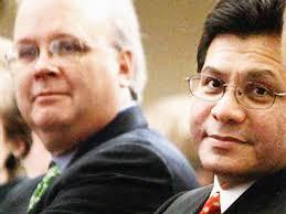 (Foto: Karl Rove (izquierda) al lado del ex fiscal Alberto Gonzales, ... - 20070328_karl_rove_e_alberto_gonzales_640