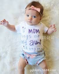 2019 2018 INS Baby <b>Girl</b> Toddler Set Outfits <b>Letter</b> Romper Onesies ...