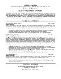 resume objectives leasing manager sample resume  seangarrette coresume objectives leasing manager sample