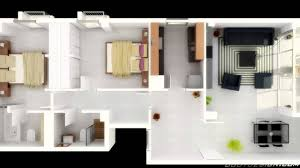 Bedroom Apartment House Plans YouTube - Two bedroomed house plans