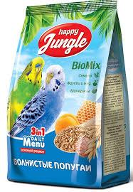 "Корм для <b>волнистых</b> попугаев ""<b>Happy Jungle</b>"", 500 г | Купить с ..."