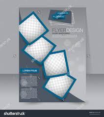 brochure design flyer template editable a stock vector  flyer template editable a4 poster for business education presentation