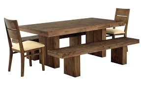 ashley furniture kitchen tables:  pleasant pine furniture dining sets charming table ideas kitchen room natural walnut wood bench combined rectangle