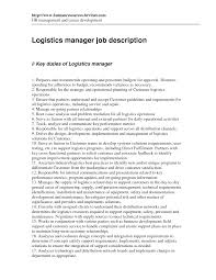 pls logistics resume s logistics lewesmr sample resume logistics entry level jobs supervisor warehouse
