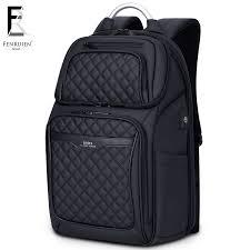 FRN <b>Men Backpack Multifunction</b> USB 17 Inch Laptop Mochila ...