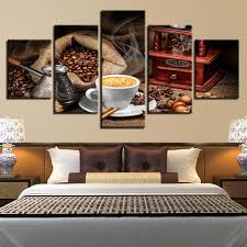 Canvas Wall Art Pictures For Living Room <b>Framework 5 Pieces</b> ...