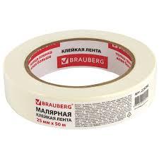 Купить <b>Клейкая</b> лента малярная креппированная 25 мм х 50 м ...