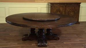 7ft dining table: ft dining table tables ideas large round solid oak casual dining table with robust base