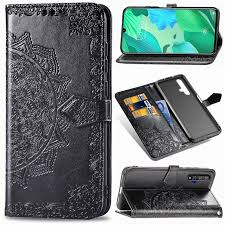 <b>Embossing</b> Imprint Mandala Flower Leather Wallet Case for Huawei ...