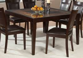 Square Dining Room Table Sets Square Dining Table With Side Chairs In Dining Room Square Dining